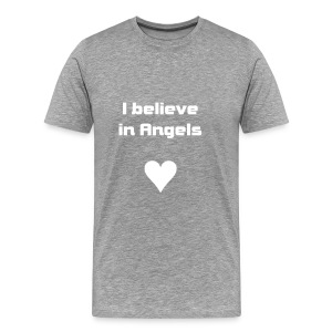 I believe in Angels - Männer Premium T-Shirt