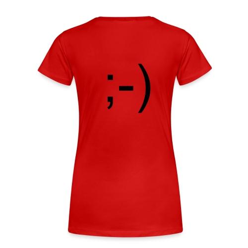 smile - T-shirt Premium Femme
