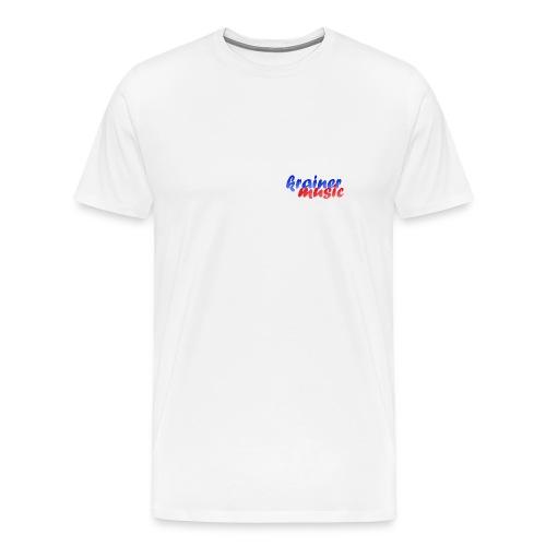 XXL-Shirt KrainerMusic KM01TS06 - Männer Premium T-Shirt