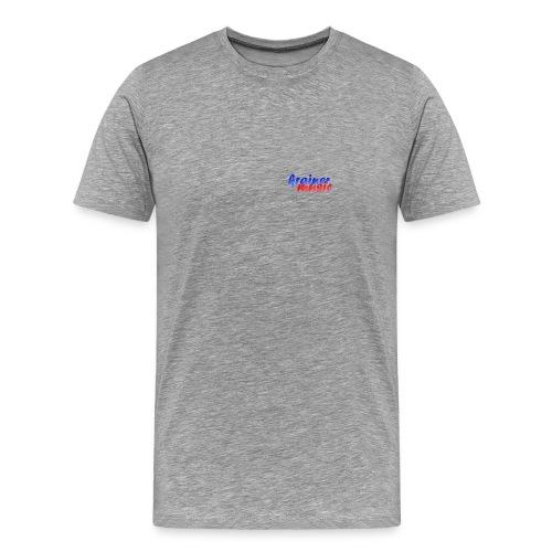 Comfort T grau KrainerMusic KM01TS04 - Männer Premium T-Shirt