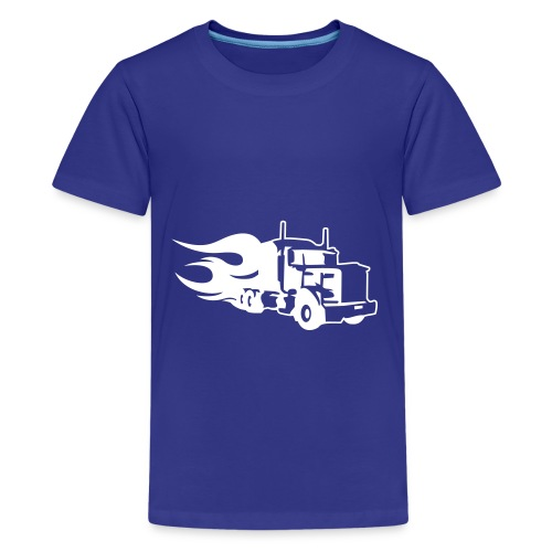 Kids Truck T-shirt - Teenage Premium T-Shirt