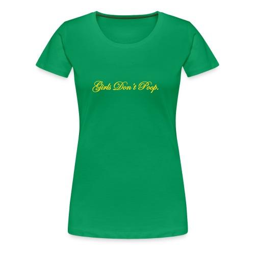 Poop! - Women's Premium T-Shirt
