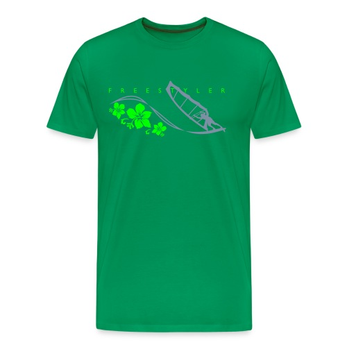 FREESTYLER 01  GREEN - Men's Premium T-Shirt
