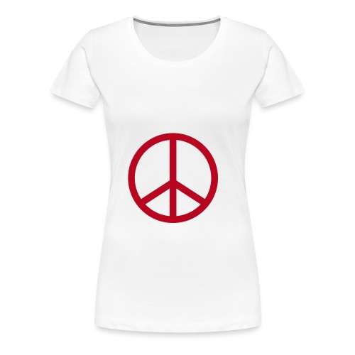 Peace & Fuck byClem - T-shirt Premium Femme