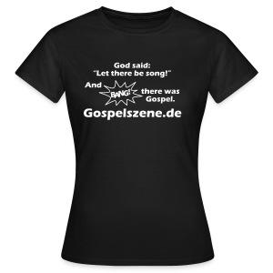 Gospelszene.de - Frauen T-Shirt