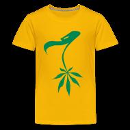 Camisetas ~ Camiseta premium adolescente ~ Buitre marihuanero