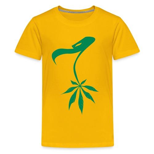 Buitre marihuanero - Camiseta premium adolescente