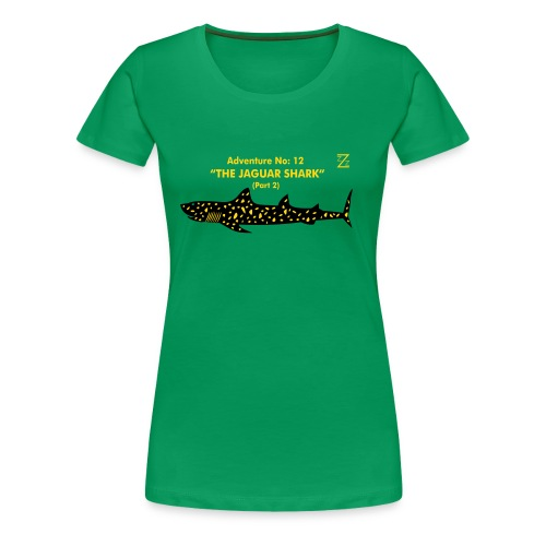 Adventure No.12 The Jaguar Shark - Women's Premium T-Shirt