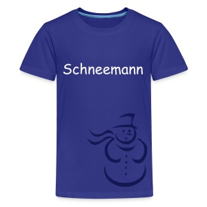 Schneemann - Teenager Premium T-Shirt
