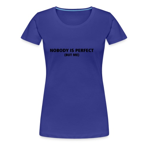 Blauw Dames T-Shirt - Vrouwen Premium T-shirt