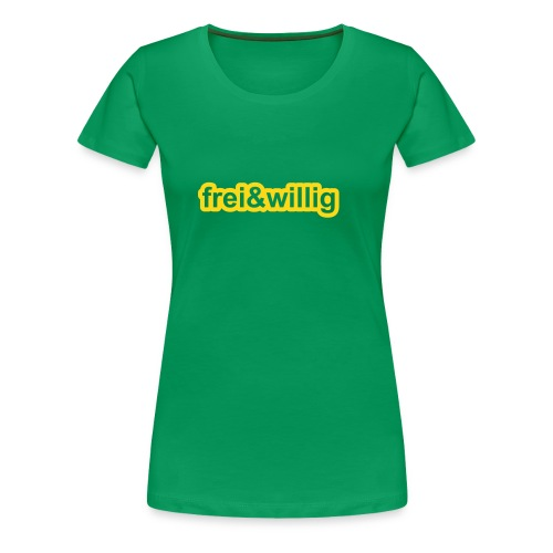 frei&willig - Frauen Premium T-Shirt