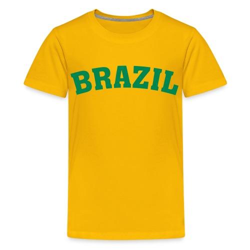 Brazil - Premium-T-shirt tonåring