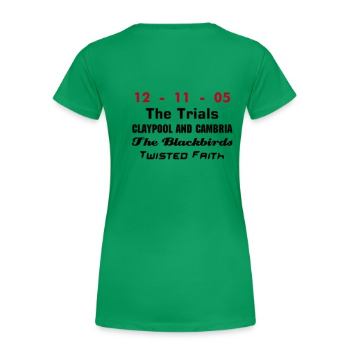 Big Gig Green Girls - Women's Premium T-Shirt