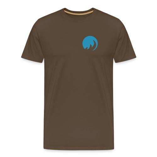 BLue FLame bRaun - Männer Premium T-Shirt