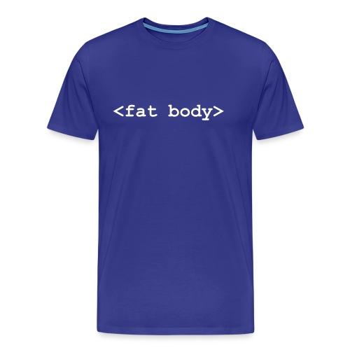 T-shirt fat body informatique - T-shirt Premium Homme