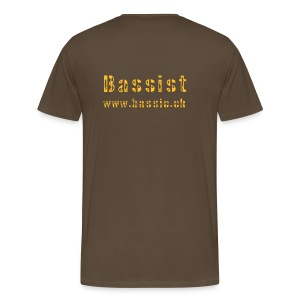 Bass Evolution braun - Männer Premium T-Shirt