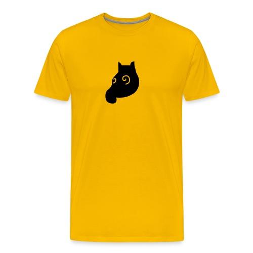 MausShirt gelb/schwarz - Männer Premium T-Shirt