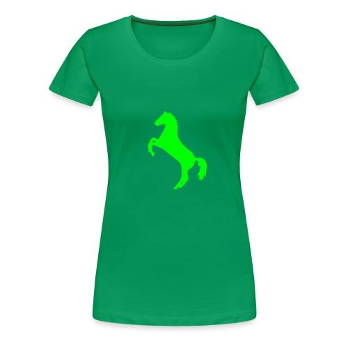 Caballo Chica - Camiseta premium mujer