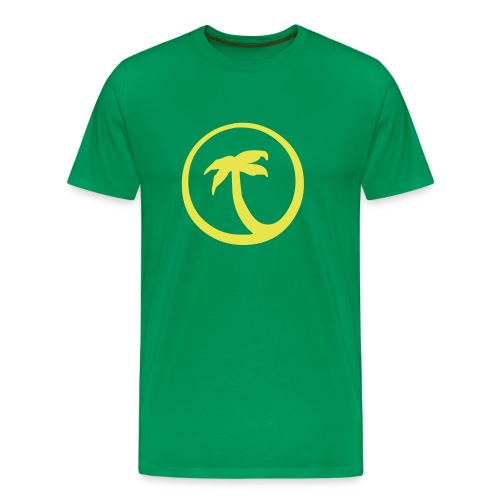 Palme grün - Männer Premium T-Shirt