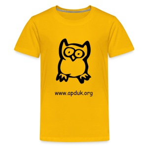 For kids 6-14- wise owl - Teenage Premium T-Shirt