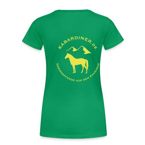 mit Vereinslogo - Frauen Premium T-Shirt