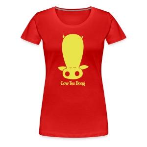 Cow Tse Dung - Women's Premium T-Shirt