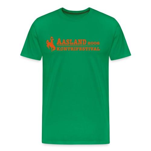 Offisiell AKF06 JohnnyTee (OBS! GAMMEL MODELL) - Premium T-skjorte for menn
