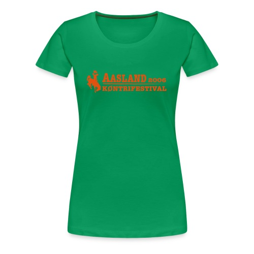 Offisiell AKF06 JuneTee (OBS! GAMMEL MODELL) - Premium T-skjorte for kvinner