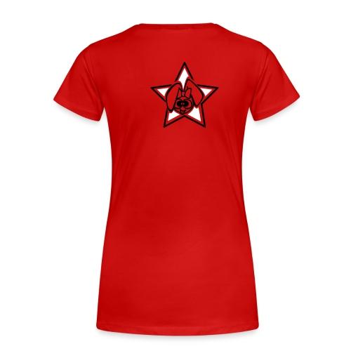 facstar - Camiseta premium mujer