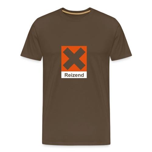 Comfort T (Reizend, braun) - Männer Premium T-Shirt