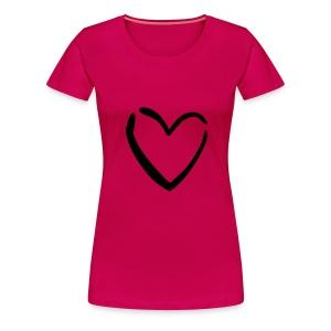 Girl Love - Vrouwen Premium T-shirt
