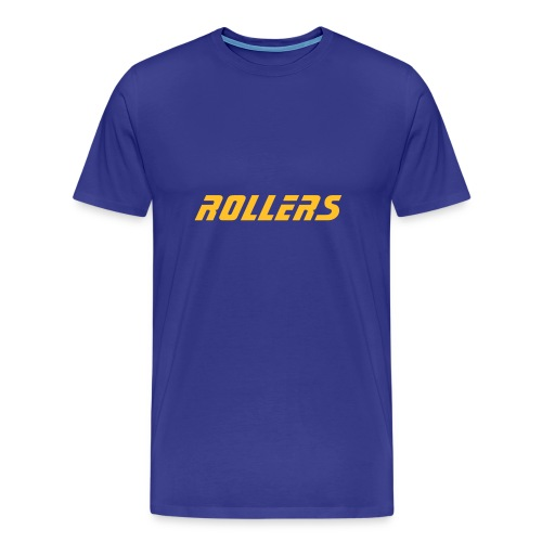 Rollers t-shirt blue - Men's Premium T-Shirt
