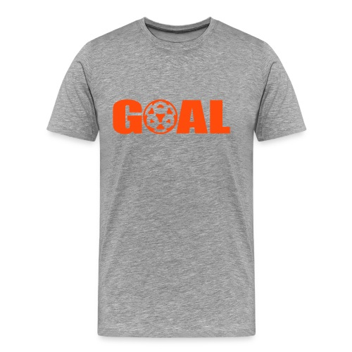 Goal - Mannen Premium T-shirt