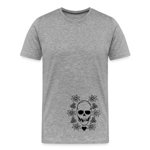 Kanji-Style shi - Männer Premium T-Shirt