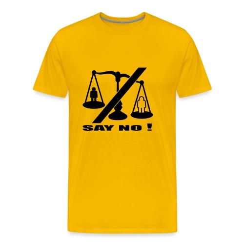 say no! - Men's Premium T-Shirt