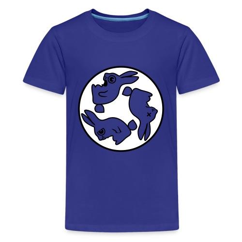 Kindershirt glow in the dark - Teenager Premium T-shirt
