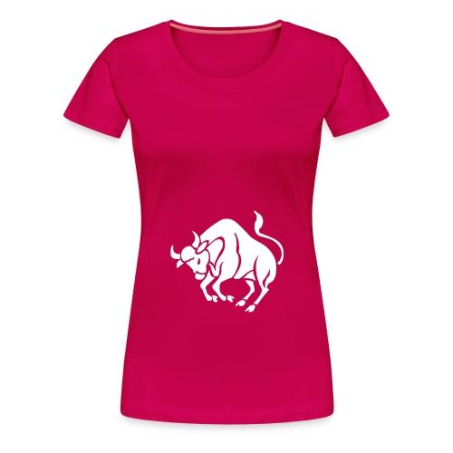 T-shirt femme TAUREAU - T-shirt Premium Femme