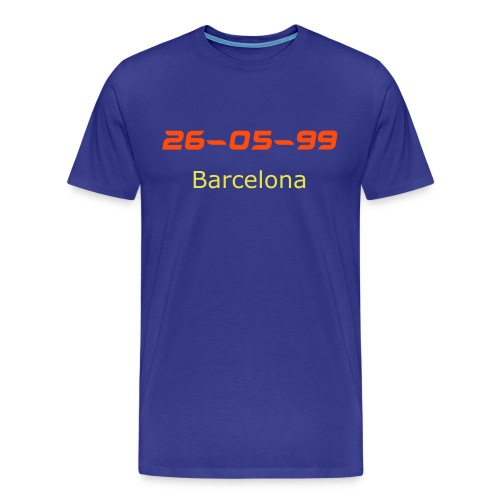 26 5 99 barcelona - Men's Premium T-Shirt