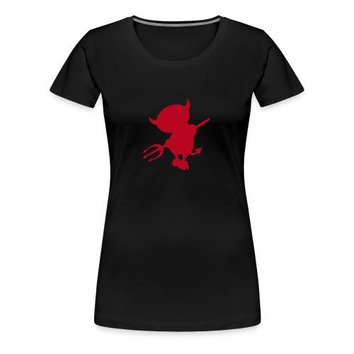 Womens Girlie Devilchen 1 red - Frauen Premium T-Shirt