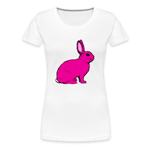 Pink Rabbit - Women's Premium T-Shirt