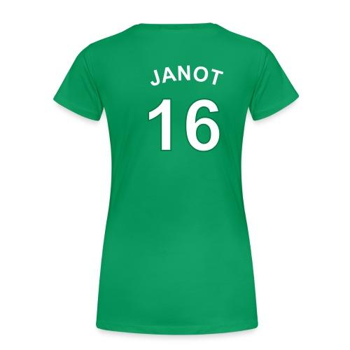 T-shirt Janot 16 femme VERT - T-shirt Premium Femme