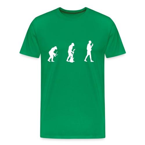 Evolution - light green - Men's Premium T-Shirt