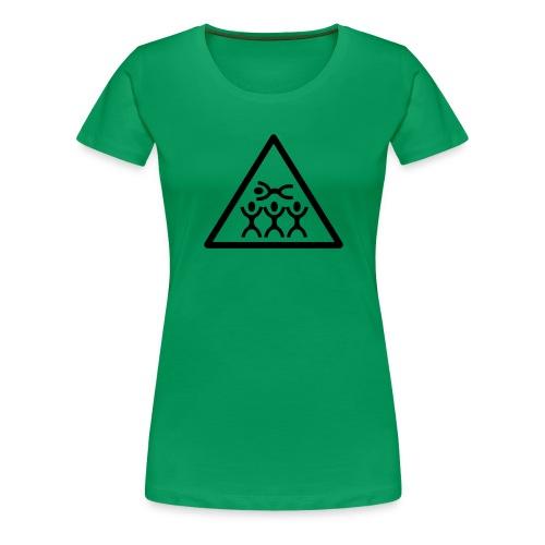 Crowd Surf - Women's Premium T-Shirt