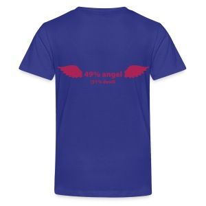 49% Angel Childrens Tee - Teenage Premium T-Shirt