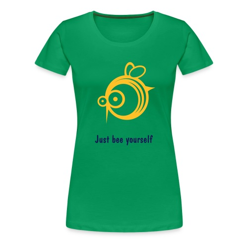 girlie_bee__green - Frauen Premium T-Shirt