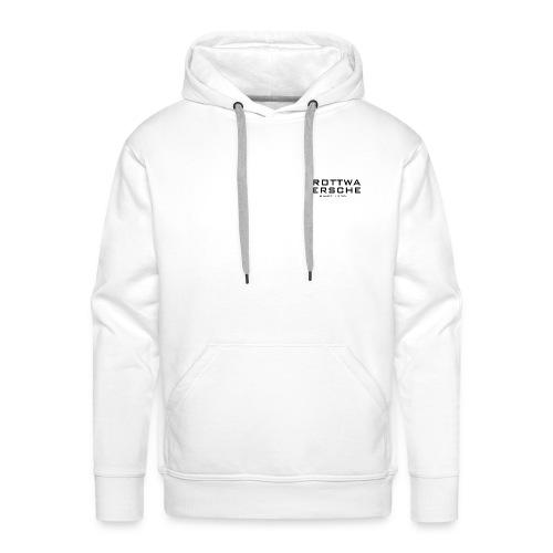 Männer Premium Hoodie - Mit Logo hinten und vorne