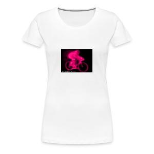 Fluoro Cyclist - Women's Premium T-Shirt