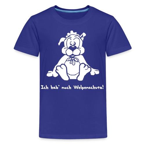 Welpenschutz - Teenager Premium T-Shirt