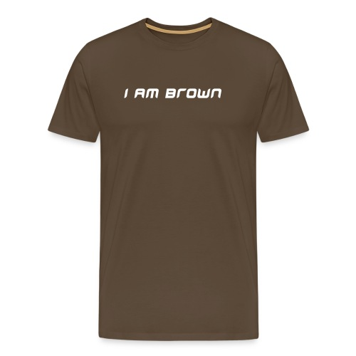 I Am Brown Shirt - Men's Premium T-Shirt