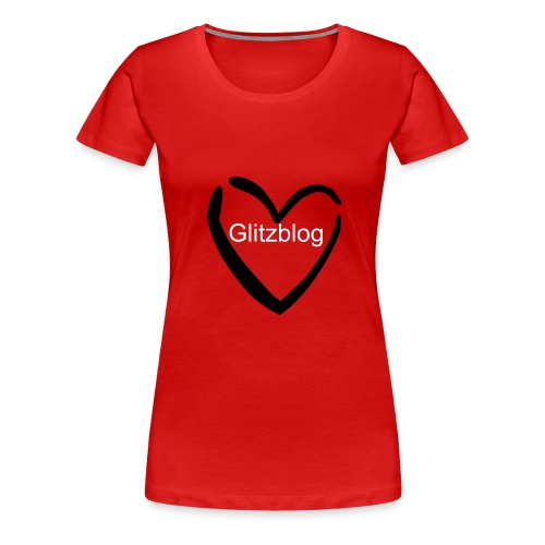 Glitz - Heart - Women's Premium T-Shirt